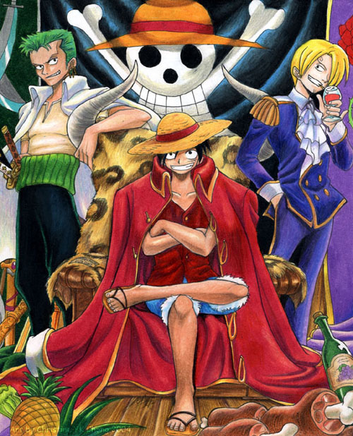 Title Luffy the Pirate...